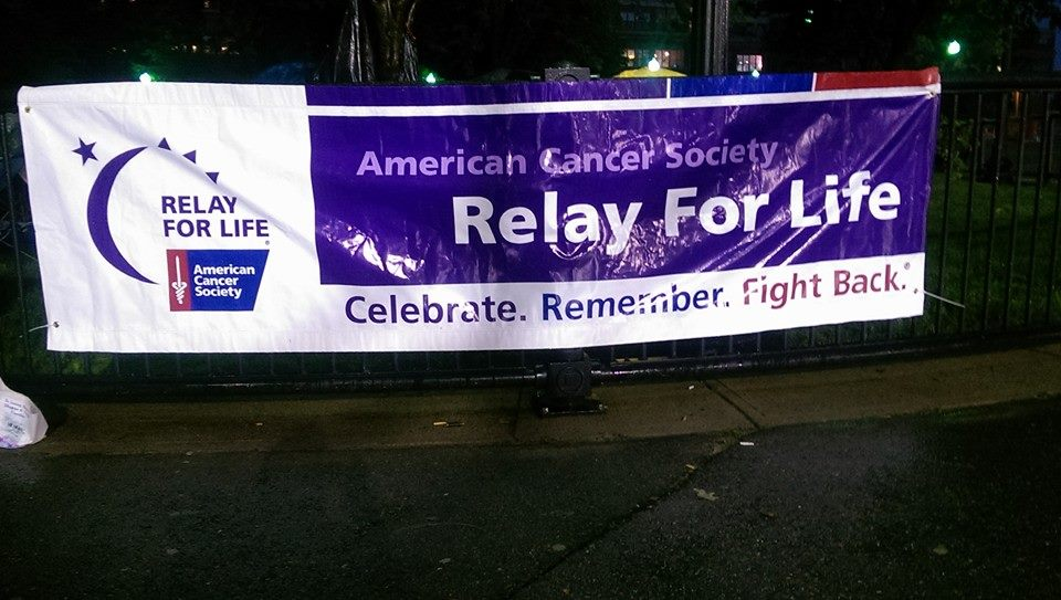 Charles River Rugby at Relay for Life
