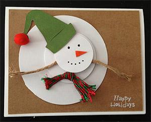 Charles River Snow Man Card